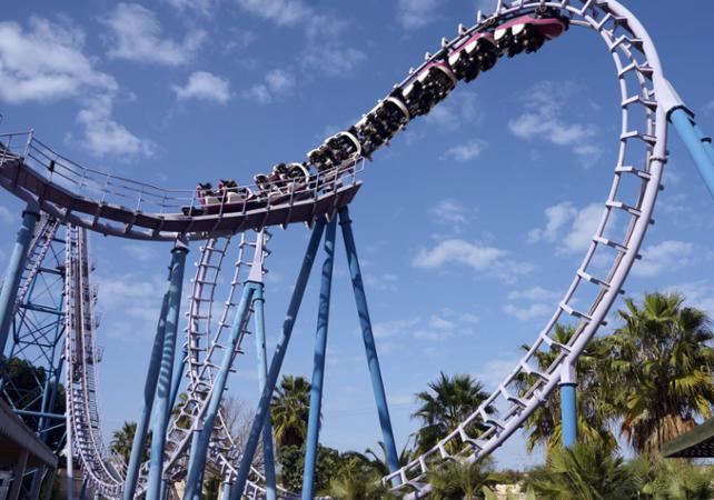 Billets Parc d'attraction Six Flags Magic Mountain – départ/retour hôtel - Los Angeles - Ceetiz