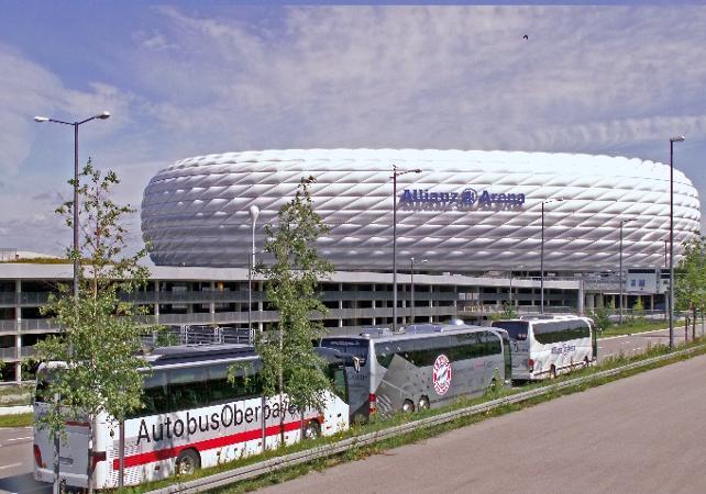 Bayern Munich Stadium Tour In English