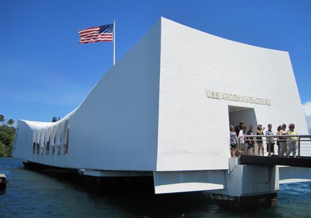 Tour de Pearl Harbor, de l'USS Arizona Memorial et des sites historiques d'Honolulu - A Oahu - Hawaii (Oahu, Maui, Big Island...) -