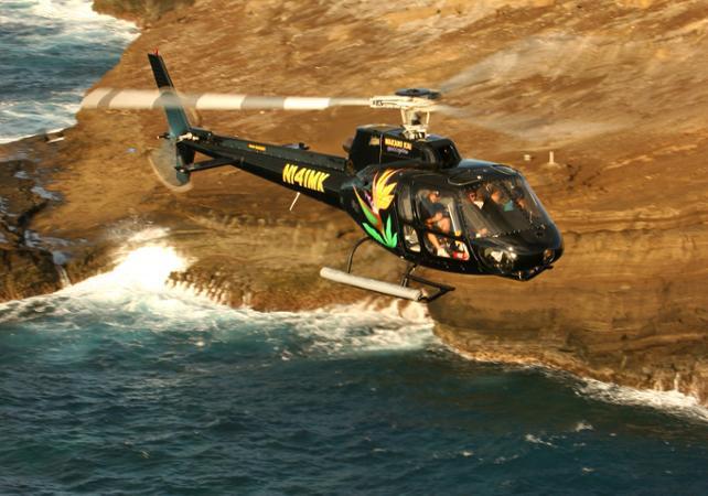 Survol en hélicoptère des plus grands sites d'Oahu (30 min) - Hawaii (Oahu, Maui, Big Island...) -