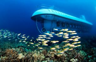 "Cruise 30 Metres Underwater On Board the Mini Submarine ""Atlantis"" – From Oahu"