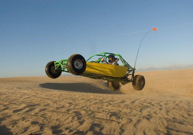 Course-poursuite en buggy dans le désert - Las Vegas -