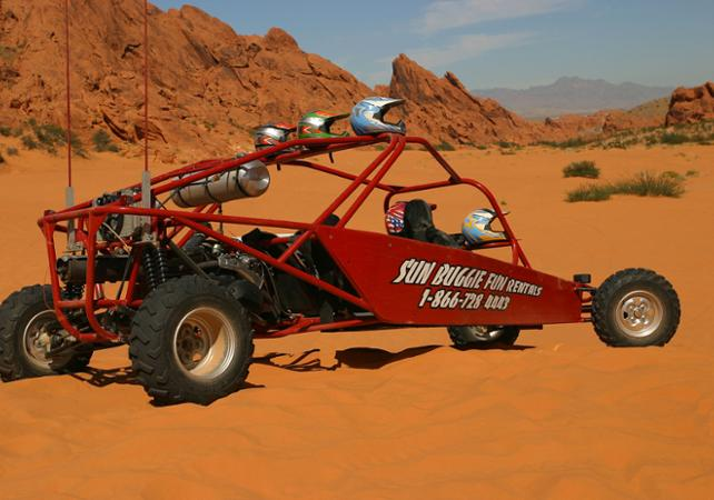 Excursion en quad ou en buggy dans la Valley of Fire - Las Vegas -