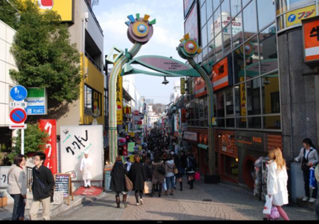 Walking Tour For Japense Garde