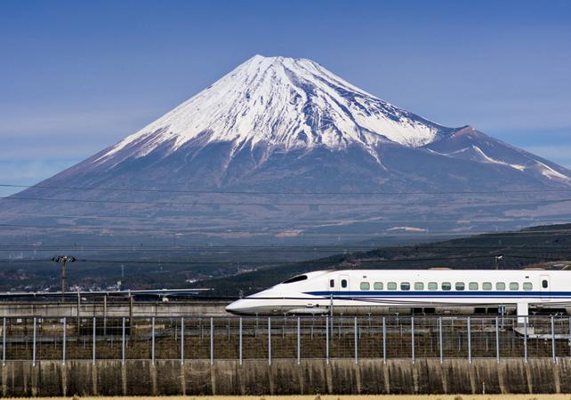 Fuji Dağı ve Shinkansen