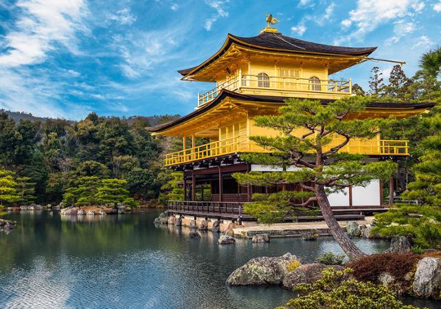 Photo Visite guidée de Kyoto en matinée - Château de Nijō, le Pavillon d'or et le Palais impérial