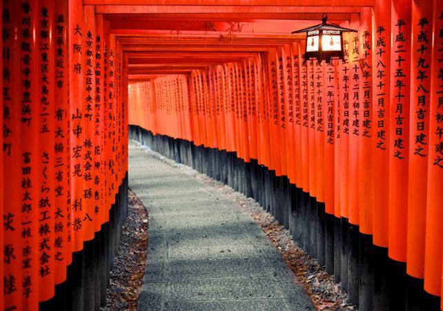 Photo Visite guidée du sanctuaire Fushimi Inari et dégustation de Saké