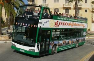 Multiple stop bus on Gozo Island - 1 day pass
