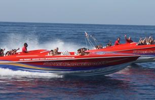 Powerboat trip to Comino - motorboat - departing from Malta