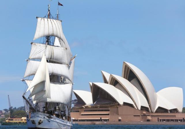 """Déjeuner-croisière sur un voilier de 1850 et visite guidée de l'île prison """"Goat Island"""" à Sydney image 7"""