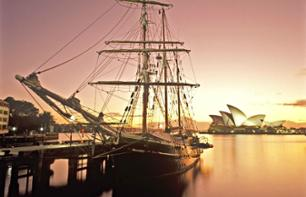 Sunset Dinner Cruise on an 1850 Sailing Boat in Sydney Harbour