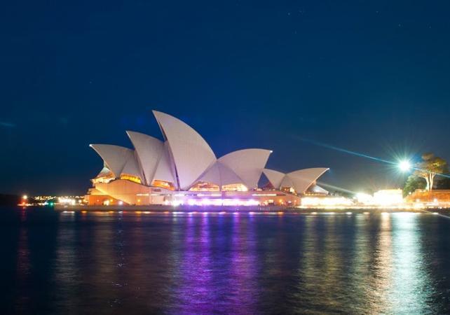 Dîner-croisière sur un voilier de 1850 dans la baie de Sydney - Au coucher du soleil image 5