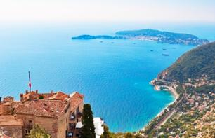 Riviera Grand Tour: Monaco, Eze, Cannes, Antibes, Juan-les-Pins – Departing from Nice