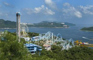 Tickets to Ocean Park, Hong Kong – Hotel pick-up/drop-off