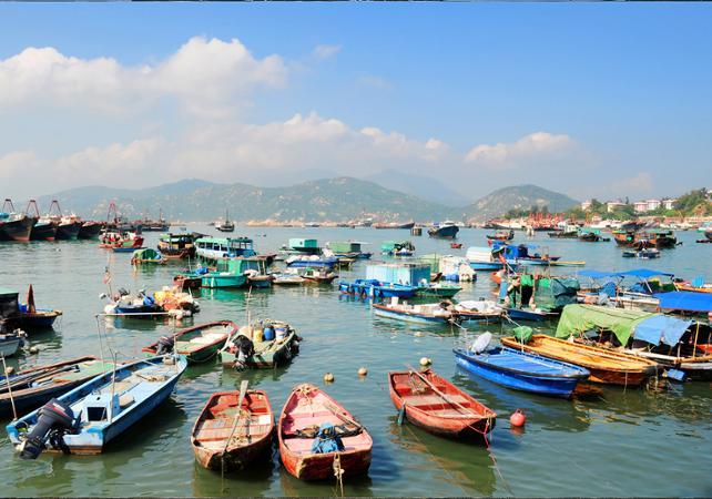 Photo Visite guidée de l'île de Cheung Chau et croisière depuis Hong Kong