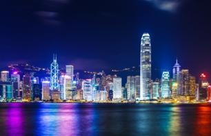 Symphony of Lights at Victoria Harbour, Hong Kong