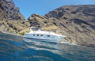 Private motorboat cruise - yacht - with snacks and drinks included - Tenerife