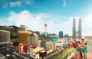 Entry to Legoland Malaysia - excursion from Singapore