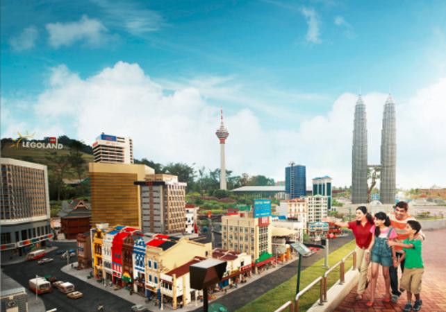 Entrée au parc Legoland de Malaisie - excursion depuis Singapour - Singapour -