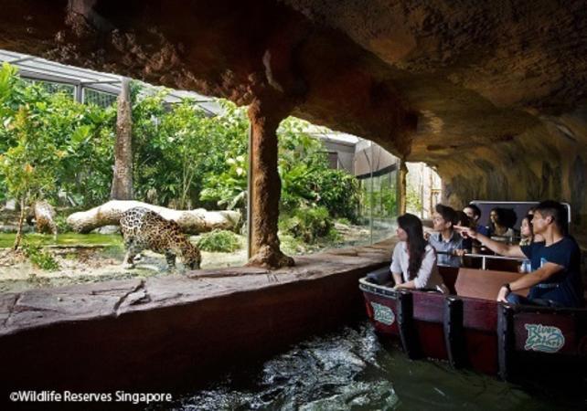 Entrée au parc River Safari - Singapour -