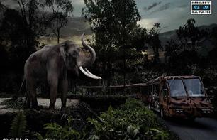Billet Safari nocturne - Night Safari - transport inclus - Singapour