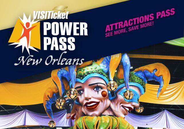 Pass Nouvelle-Orléans : musées, tours et attractions - Accès coupe-file - La Nouvelle-Orléans -
