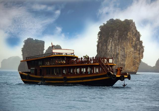 Croisière romantique dans la baie d'Halong – 2 jours - Hanoï -