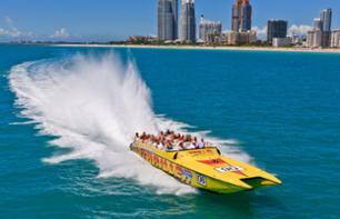 Awesome speedboat tour in the Miami Bay