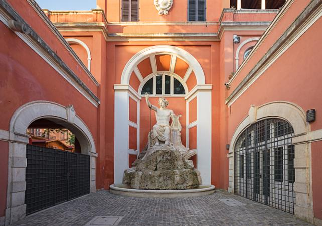 galeries d 39 art billet coupe file galerie du palais barberini rome. Black Bedroom Furniture Sets. Home Design Ideas