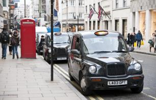 Guided tour of London by private taxi - The Beatles Rock'n'Roll
