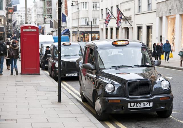 Visite guidée en Taxi londonien privé sur le thème « Beatles Rock'n'Roll » - Londres -