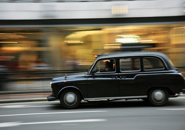 Photo Visite guidée en taxi privé du quartier de Southwark
