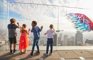 OUE Skyspace LA Tickets – Observation deck with optional Skyslide