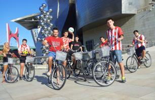 Tour guidé à vélo – la légende de l'Athletic Bilbao