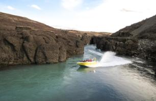 Jet Boat Tour in Gullfoss Canyon - 1 Hour 30 Minutes from Reykjavik