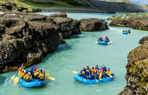 Rafting in the Gulfoss Canyon - 1 hour 30 min. from Reykjavik - Optional transport Reykjavik