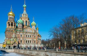 A private visit of the The Church of the Savior on Spilled Blood of Saint Petersburg - In French