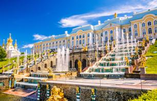 Private Visit to Peterhof Palace and Gardens in Saint Petersburg - Transport included