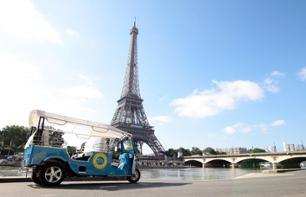 The essentials of Paris by Tuktuk - 1 hour