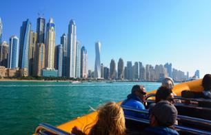 Zodiac Boat Cruise in Dubai – Marina and  Palm Jumeirah route (1h 15mins)