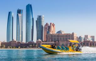 Zodiac Cruise of Abu Dhabi – Emirates Palace, The Corniche & Lulu Island (1hr)
