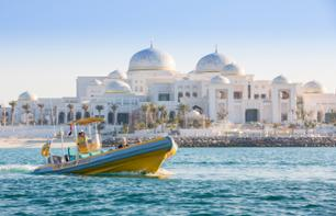 Zodian Cruise of Abu Dhabi – Emirates Palace, Presidential Palace & Grand Mosque (1hr30)