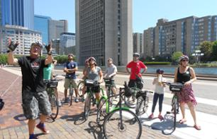 Guided Bike Tour of Boston – 16km route