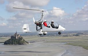 Flight over Mont Saint-Michel Bay by Ultralight Trike or Autogyro – 20 mins