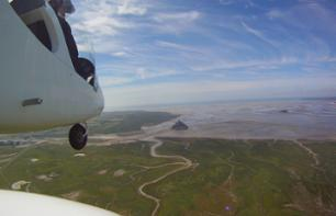 Premium Flight over Mont Saint-Michel Bay by Ultralight Trike or Autogyro – 1 hr.