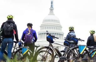 Tour guidé de Washington D.C en vélo (vélo électrique en option)