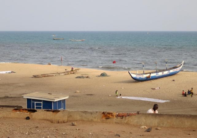 Tour guidé d'Ussher fort et James Fort à Accra