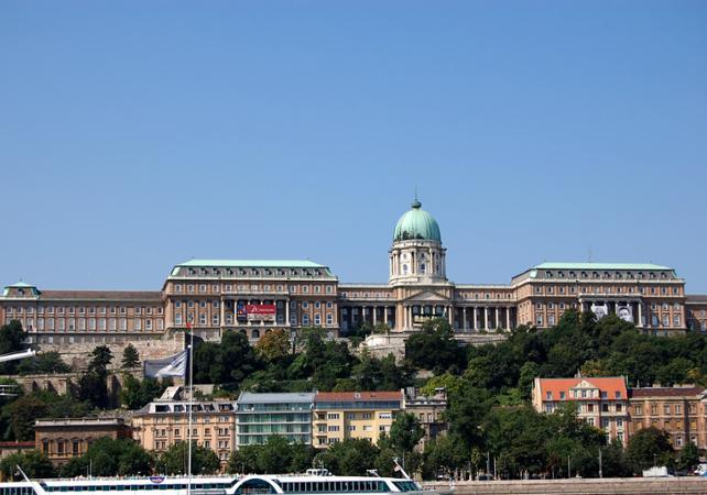 Visite guidée du château de Budapest - Palais royal - Budapest -
