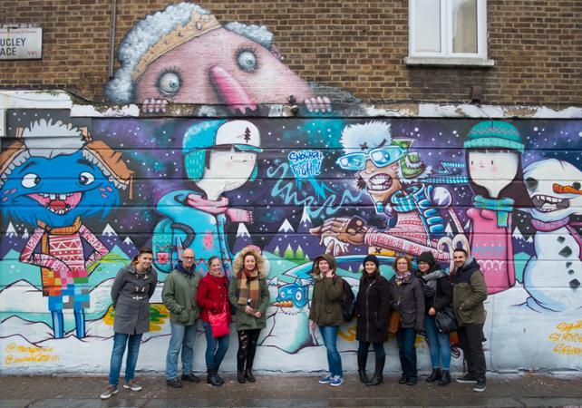Visite guidée de l'art urbain à Camden - Londres -
