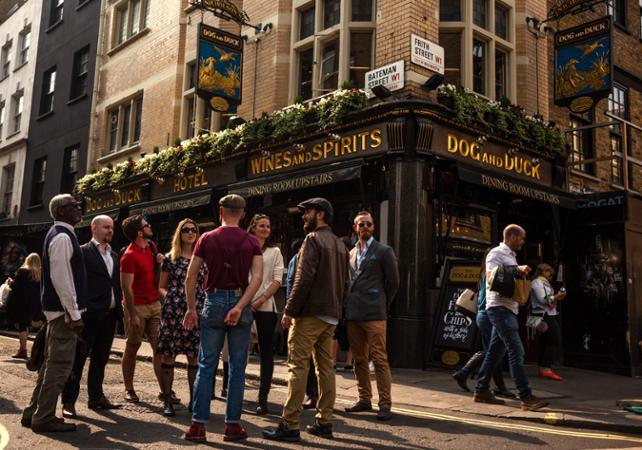 Photo Tour guidé des pubs et bars de Soho à Londres